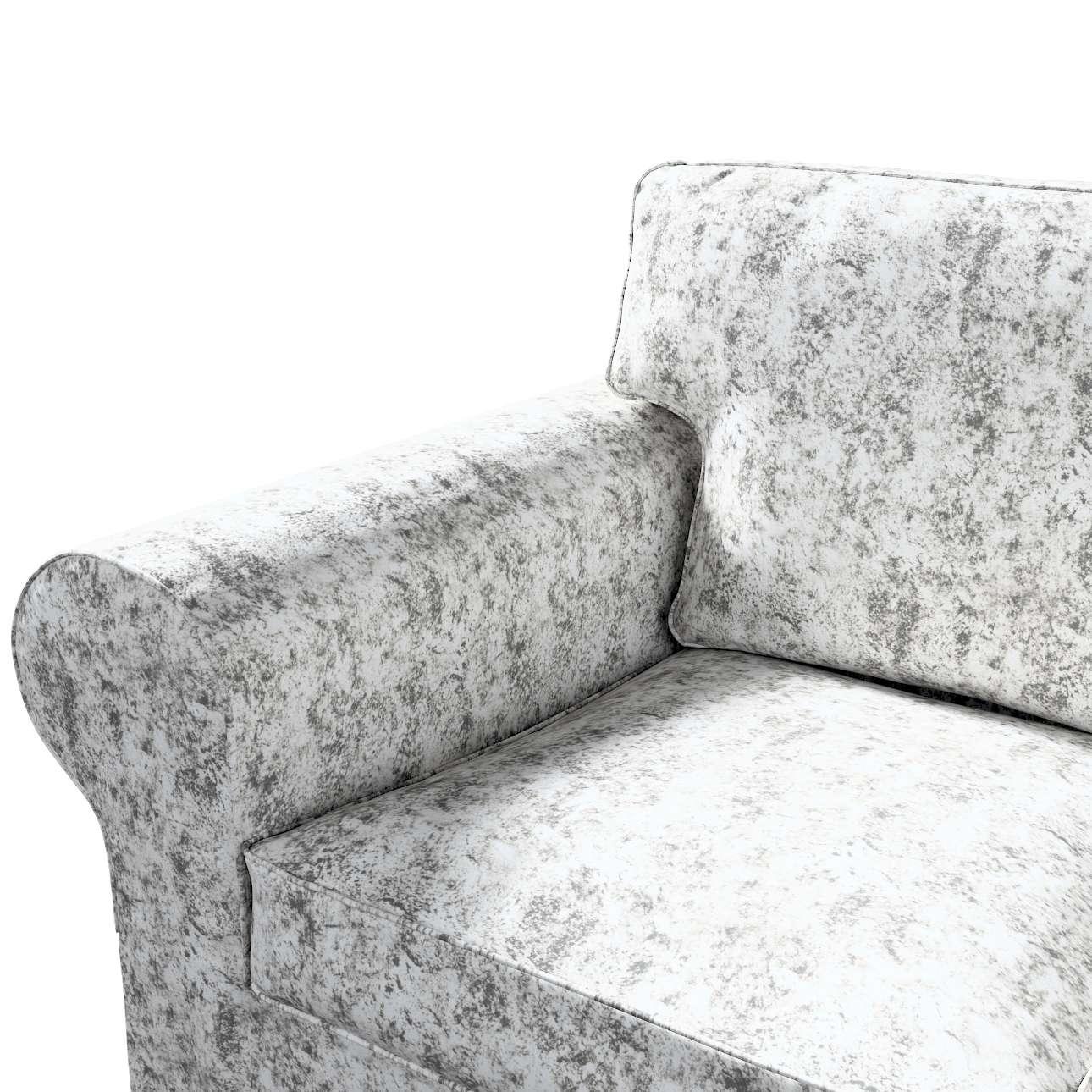 Pokrowiec na sofę Ektorp 3-osobową, nierozkładaną w kolekcji Velvet, tkanina: 704-49