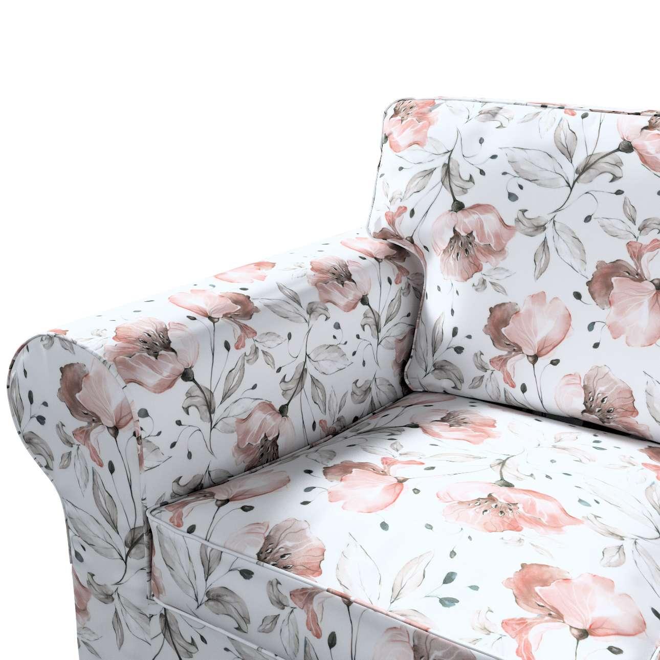 Pokrowiec na sofę Ektorp 3-osobową, nierozkładaną w kolekcji Velvet, tkanina: 704-50