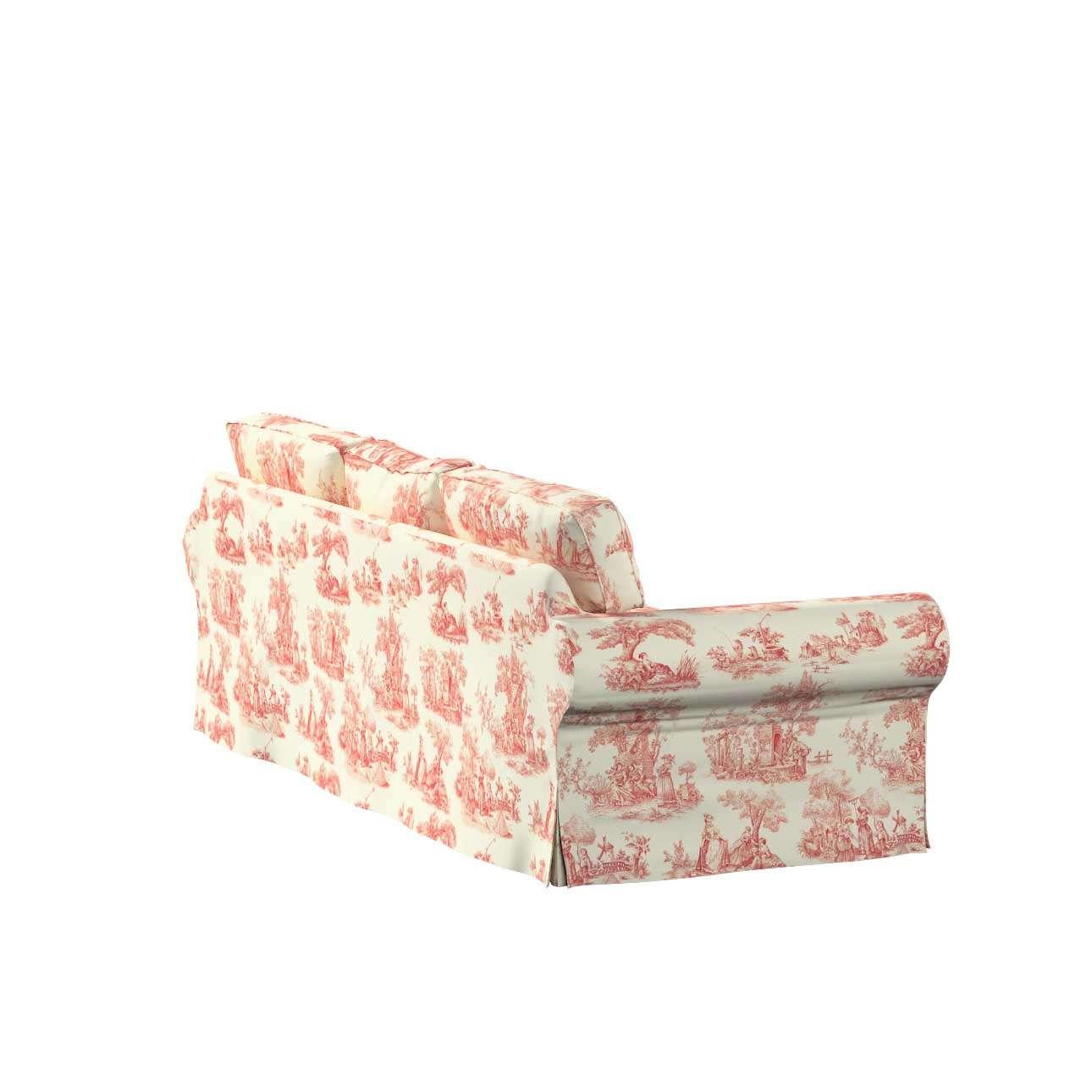 Potah na pohovku IKEA  Ektorp 3-místná, nerozkládací pohovka Ektorp 3-místná v kolekci Avignon, látka: 132-15