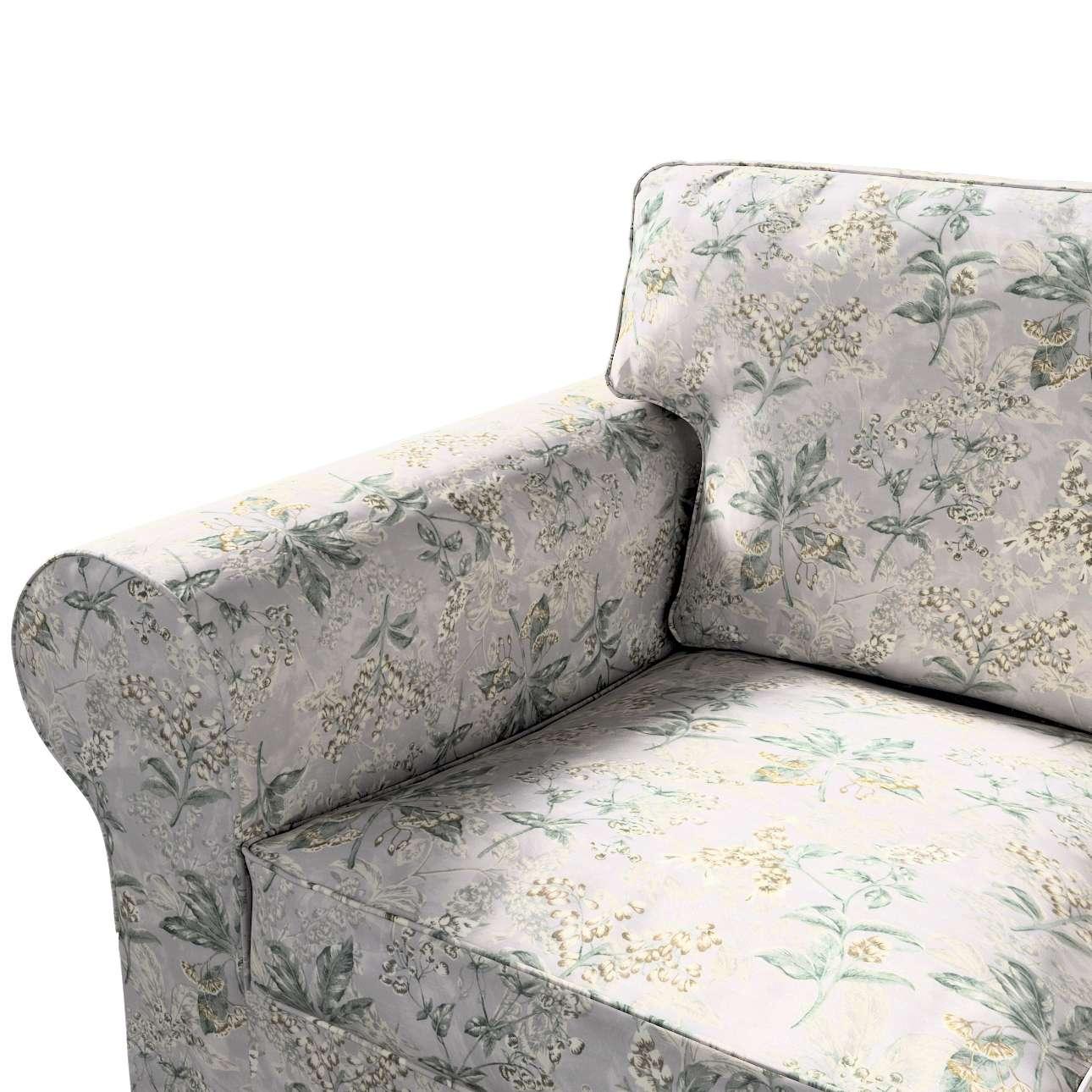 Pokrowiec na sofę Ektorp 3-osobową, nierozkładaną w kolekcji Londres, tkanina: 143-37