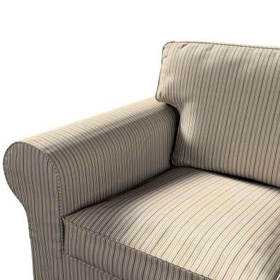 Pokrowiec na sofę Ektorp 3-osobową, nierozkładaną w kolekcji Londres, tkanina: 143-38