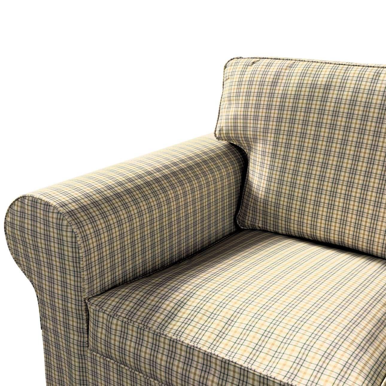 Pokrowiec na sofę Ektorp 3-osobową, nierozkładaną w kolekcji Londres, tkanina: 143-39