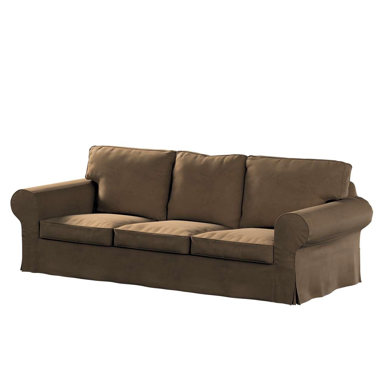 Pokrowiec na sofę Ektorp 3-osobową, nierozkładaną w kolekcji Living II, tkanina: 160-94