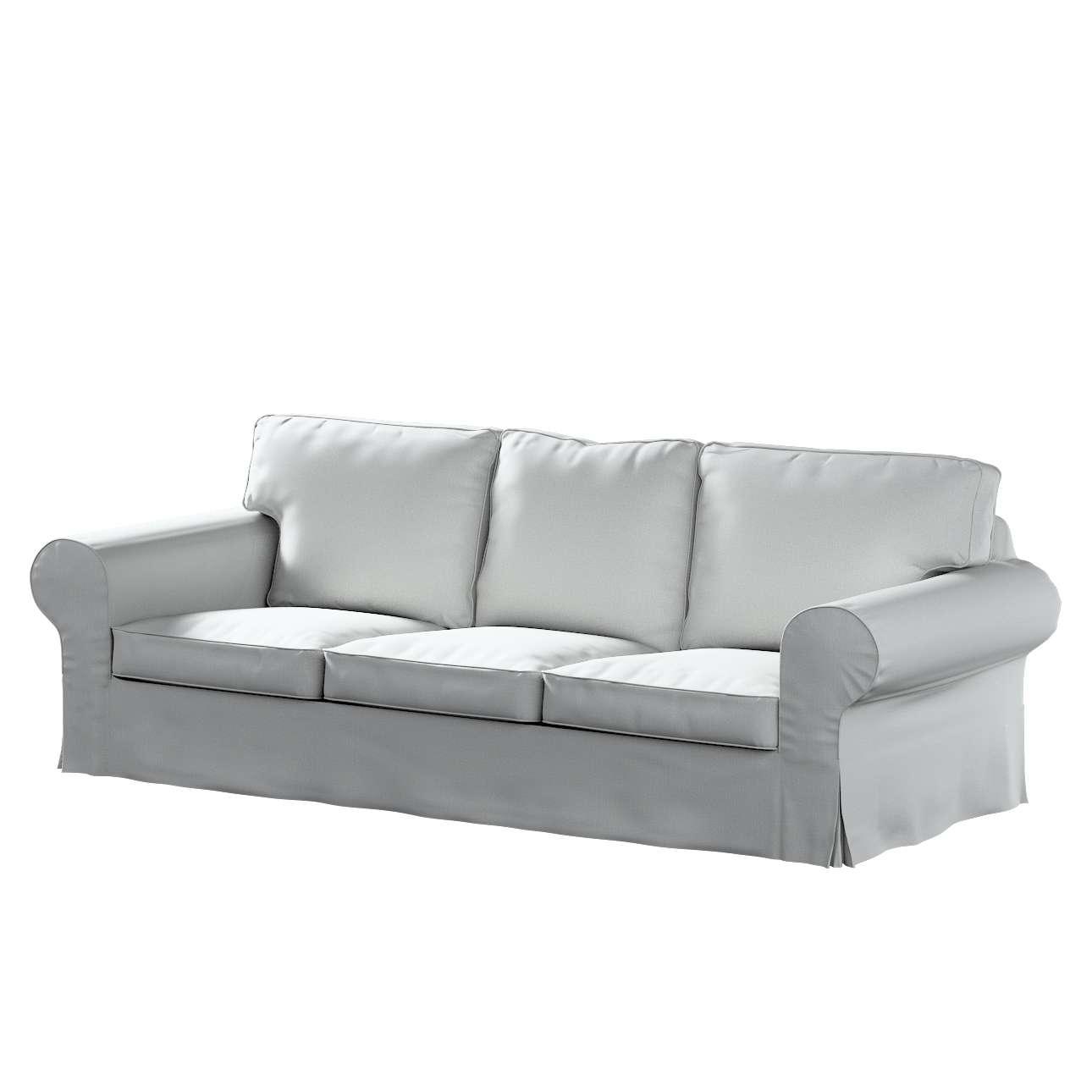Pokrowiec na sofę Ektorp 3-osobową, nierozkładaną w kolekcji Living II, tkanina: 161-18