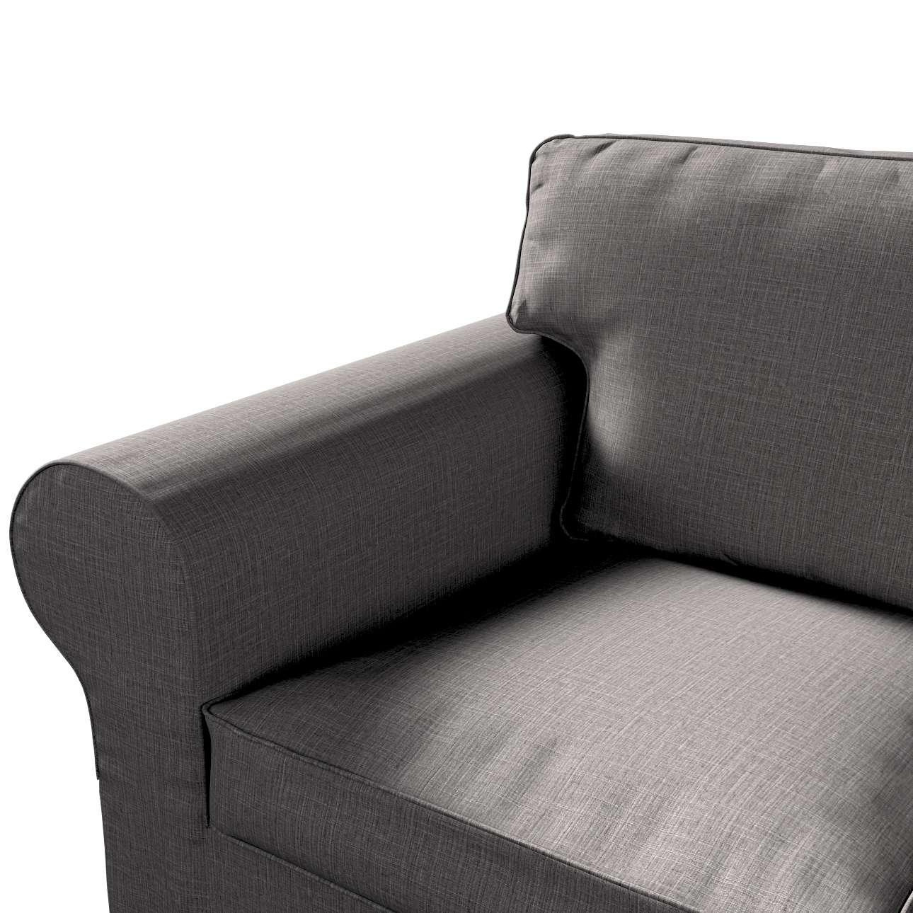 Pokrowiec na sofę Ektorp 3-osobową, nierozkładaną w kolekcji Living II, tkanina: 161-16