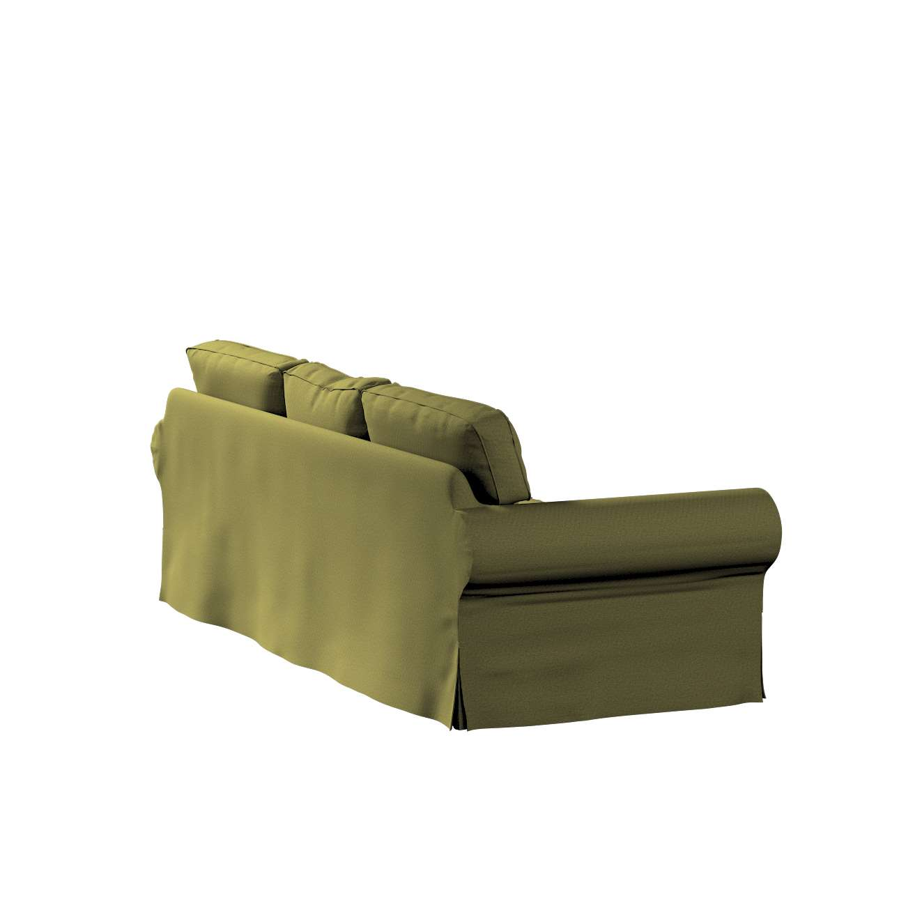 Pokrowiec na sofę Ektorp 3-osobową, nierozkładaną w kolekcji Etna, tkanina: 161-26