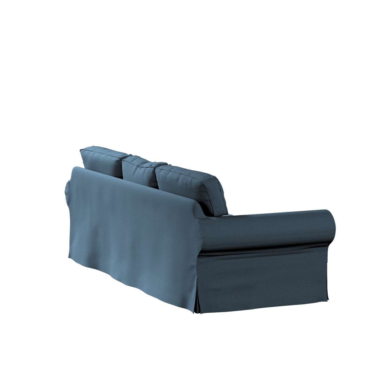 Pokrowiec na sofę Ektorp 3-osobową, nierozkładaną w kolekcji Etna, tkanina: 705-30