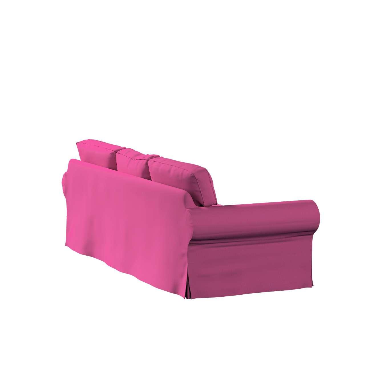 Pokrowiec na sofę Ektorp 3-osobową, nierozkładaną w kolekcji Living II, tkanina: 161-29