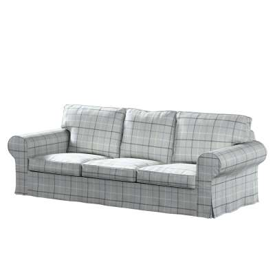 Pokrowiec na sofę Ektorp 3-osobową, nierozkładaną w kolekcji Edinburgh, tkanina: 703-18