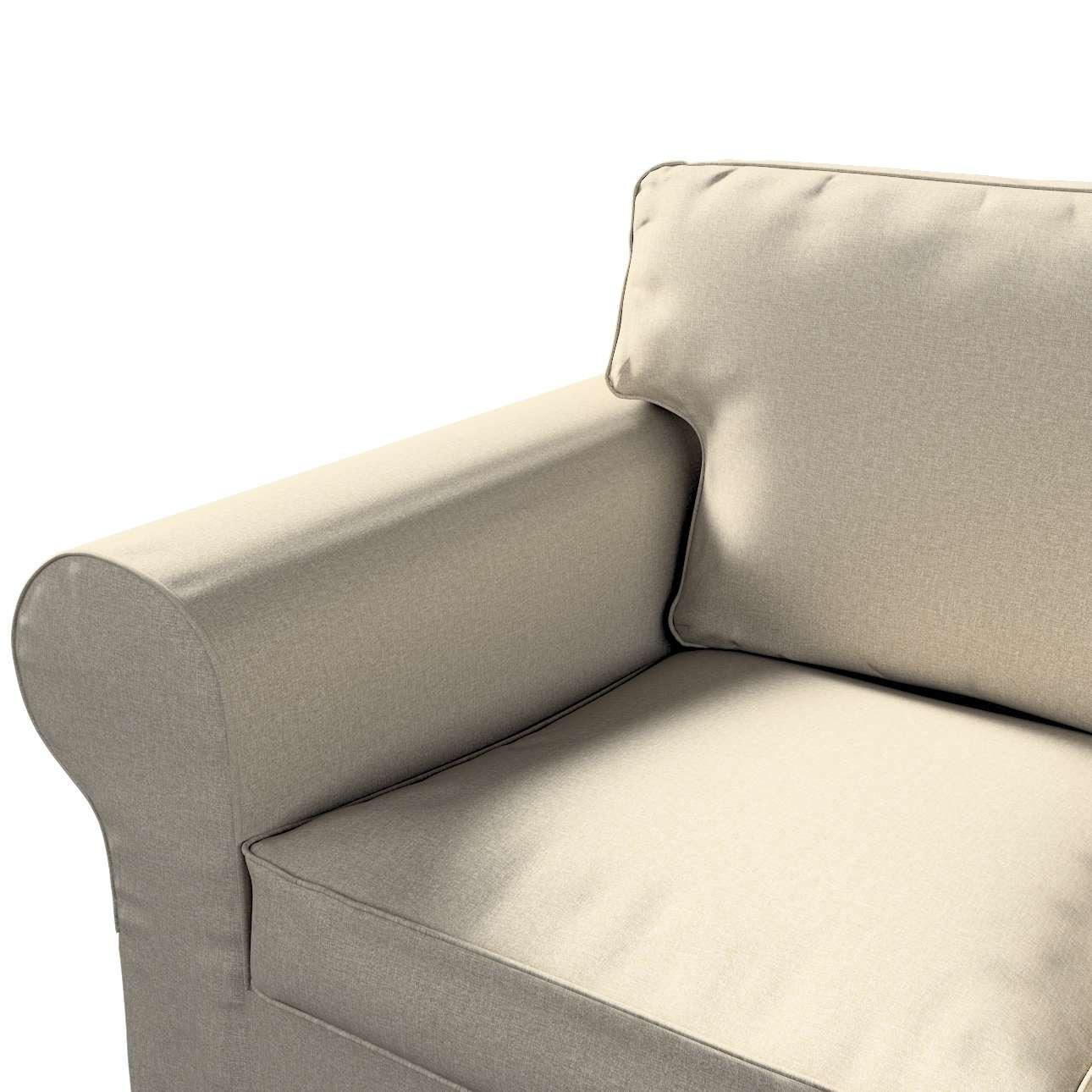 Pokrowiec na sofę Ektorp 3-osobową, nierozkładaną w kolekcji Amsterdam, tkanina: 704-52