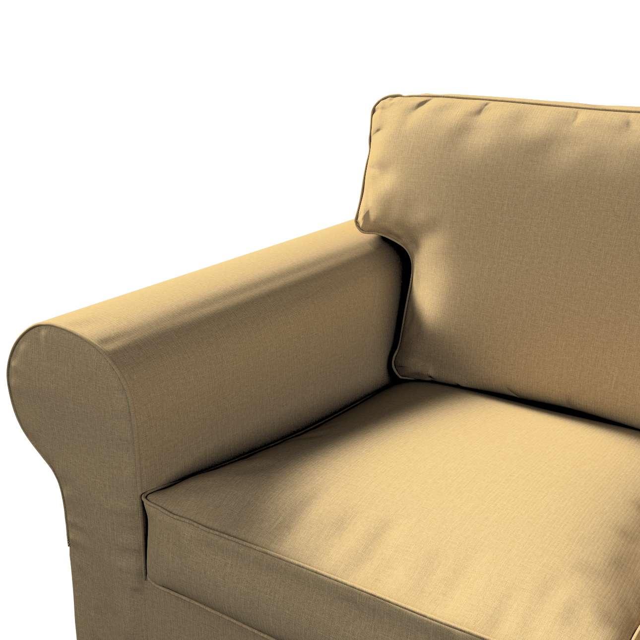 Pokrowiec na sofę Ektorp 3-osobową, nierozkładaną w kolekcji Living, tkanina: 161-50