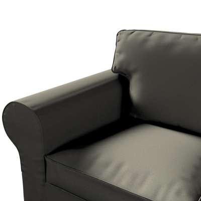 Pokrowiec na sofę Ektorp 3-osobową, nierozkładaną w kolekcji Living, tkanina: 161-55