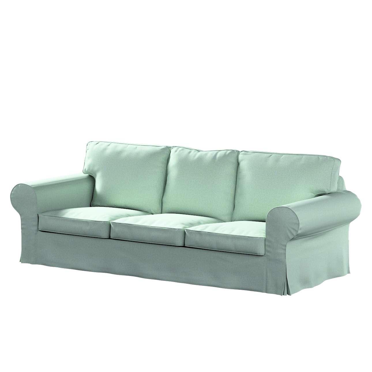 Pokrowiec na sofę Ektorp 3-osobową, nierozkładaną w kolekcji Living, tkanina: 161-61