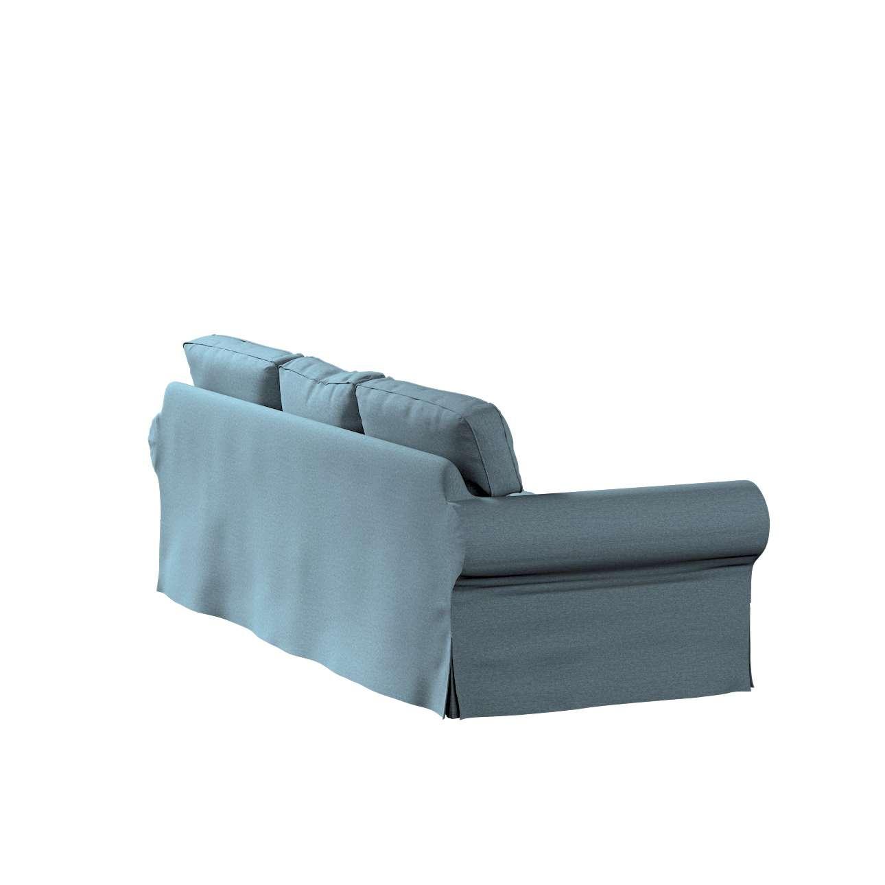 Pokrowiec na sofę Ektorp 3-osobową, nierozkładaną w kolekcji Madrid, tkanina: 161-90