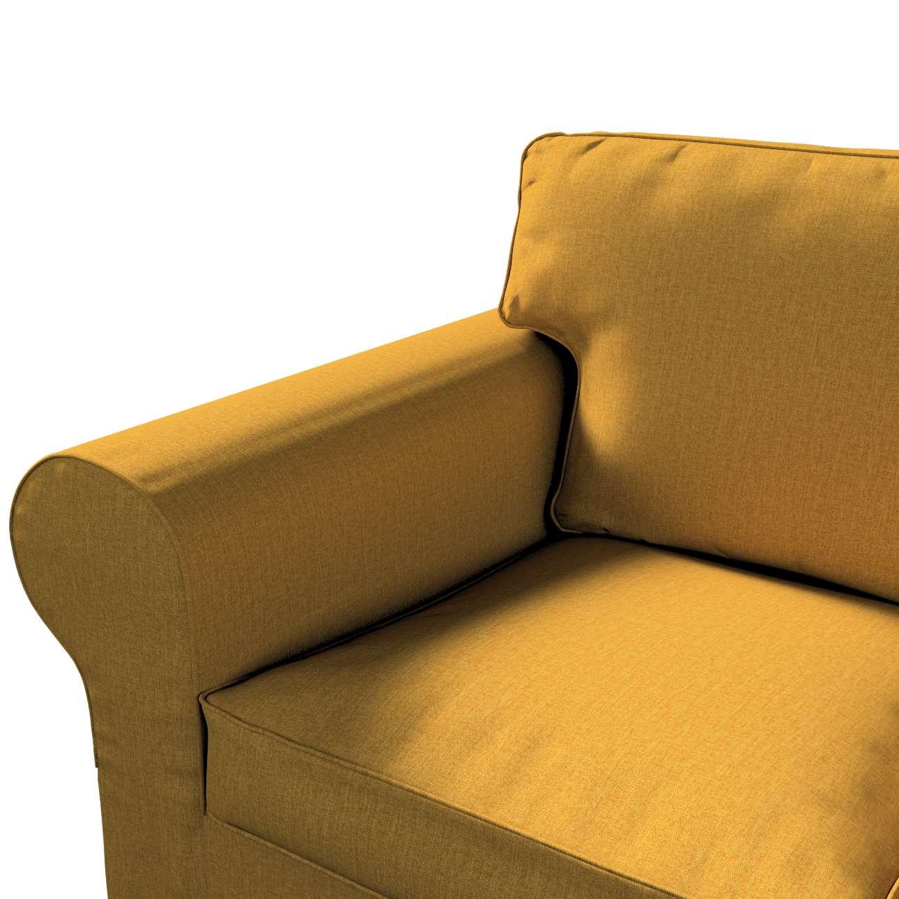 Pokrowiec na sofę Ektorp 3-osobową, nierozkładaną w kolekcji City, tkanina: 704-82
