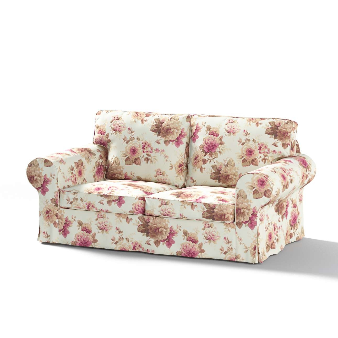 Pokrowiec na sofę Ektorp 2-osobową, nierozkładaną w kolekcji Mirella, tkanina: 141-06
