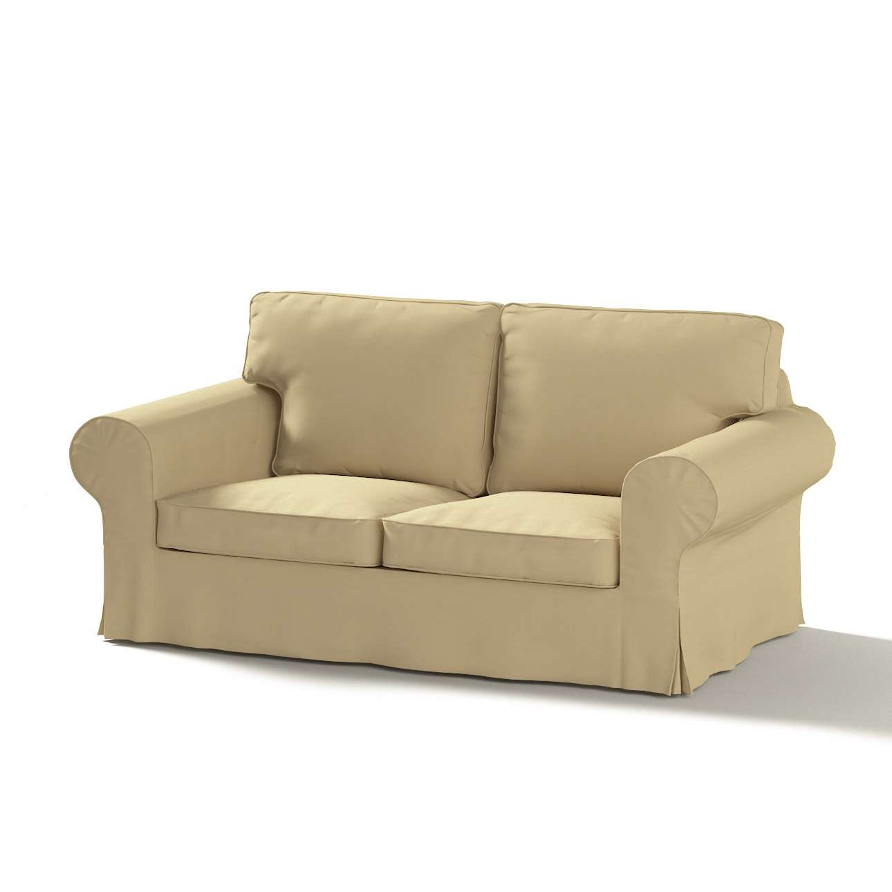 Ektorp 2-seater sofa cover in collection Panama Cotton, fabric: 702-01