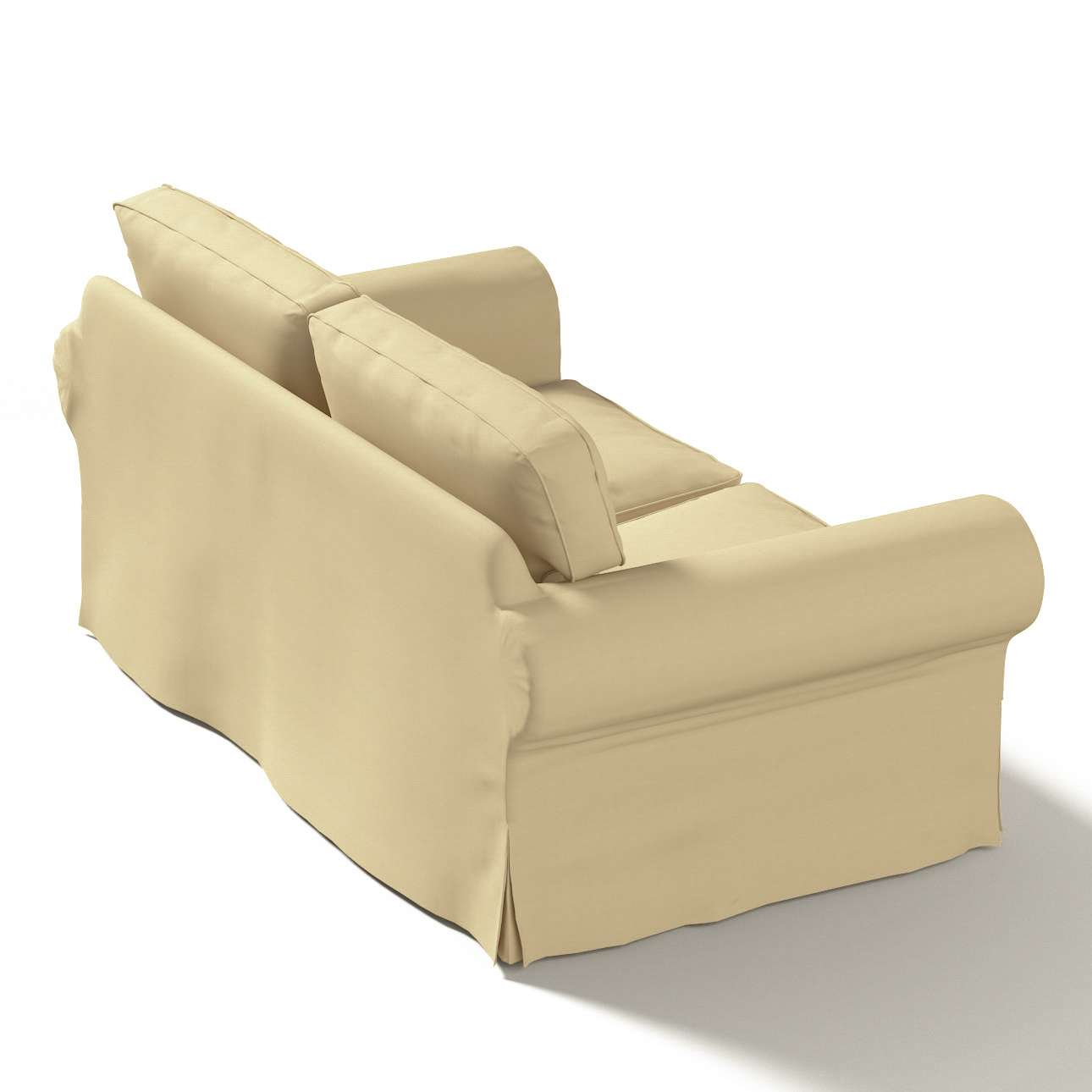 Ektorp 2 sæder fra kollektionen Cotton Panama, Stof: 702-01