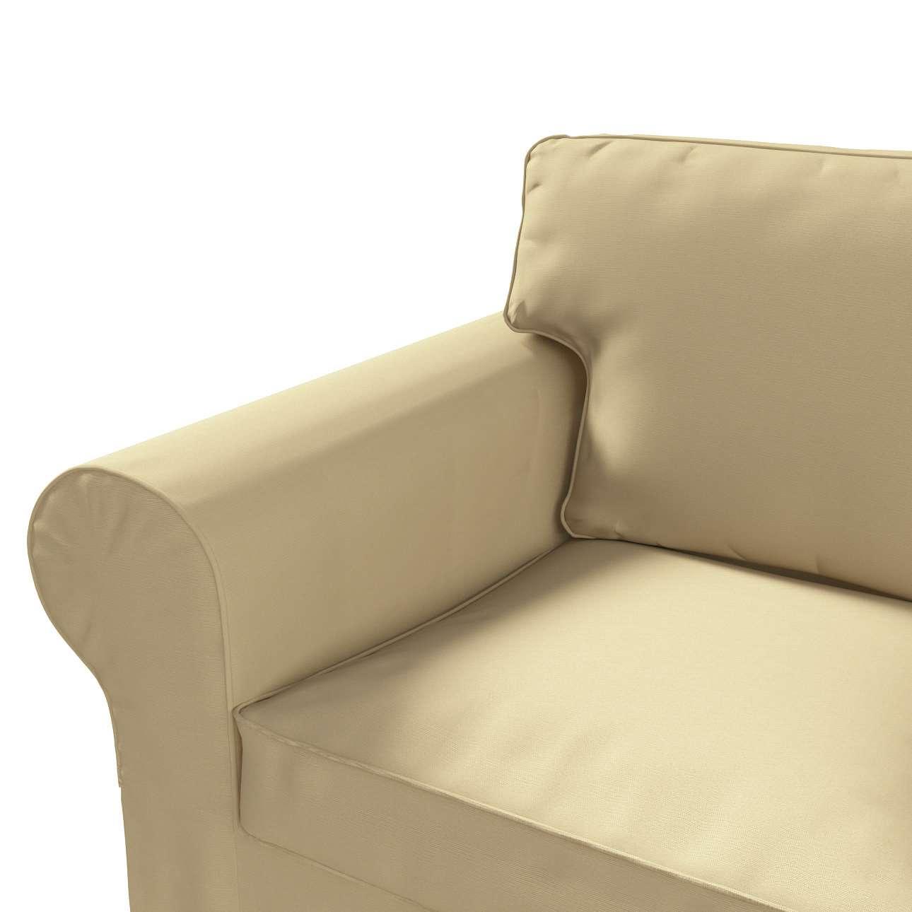 Ektorp 2-Sitzer Sofabezug nicht ausklappbar Sofabezug für  Ektorp 2-Sitzer nicht ausklappbar von der Kollektion Cotton Panama, Stoff: 702-01