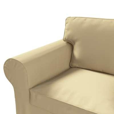 Pokrowiec na sofę Ektorp 2-osobową, nierozkładaną w kolekcji Cotton Panama, tkanina: 702-01