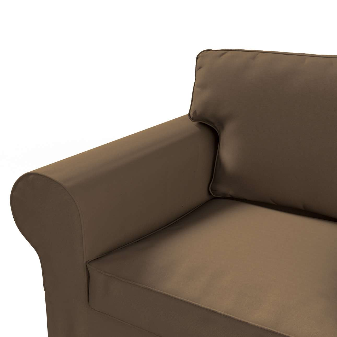 IKEA-hoes voor Ektorp 2-zitsbank - niet uitklapbaar van de collectie Cotton Panama, Stof: 702-02
