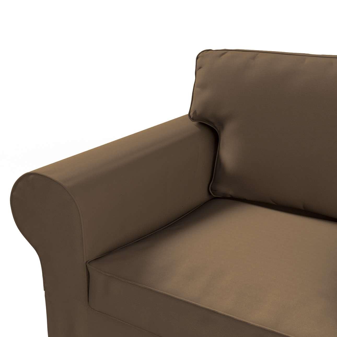 Pokrowiec na sofę Ektorp 2-osobową, nierozkładaną w kolekcji Cotton Panama, tkanina: 702-02