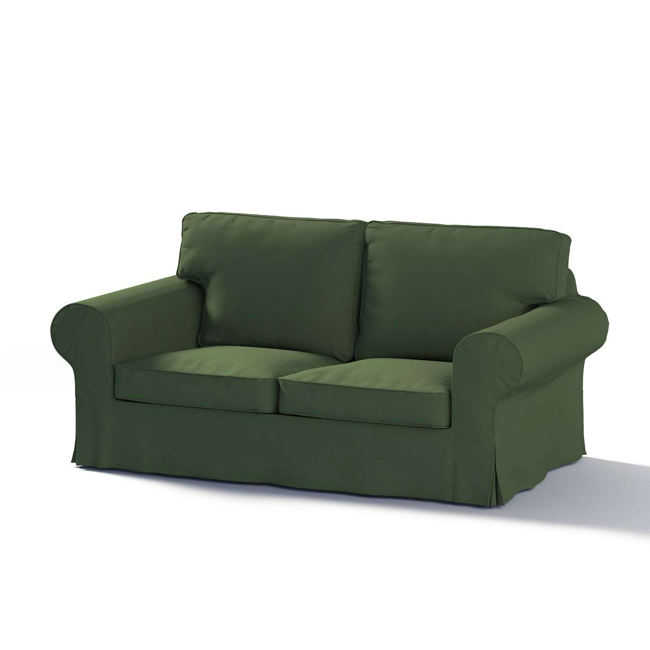 Bezug für Ektorp 2-Sitzer Sofa nicht ausklappbar von der Kollektion Cotton Panama, Stoff: 702-06