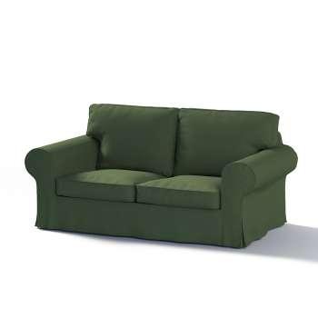 Pokrowiec na sofę Ektorp 2-osobową, nierozkładaną w kolekcji Cotton Panama, tkanina: 702-06