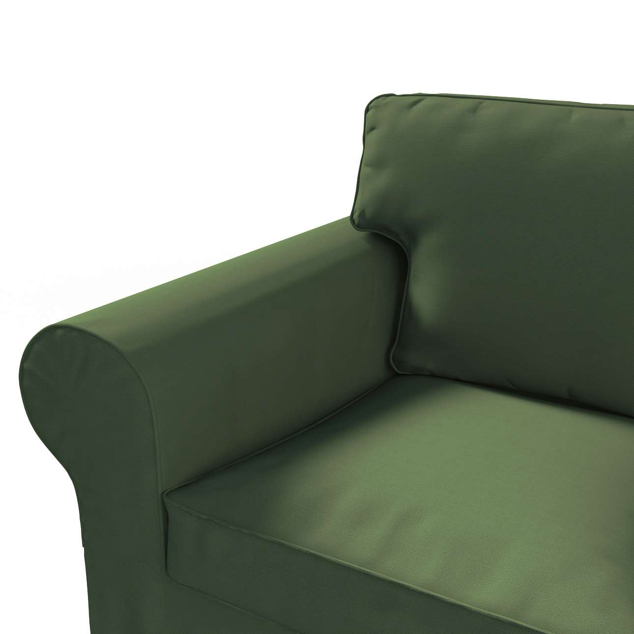 Ektorp betræk 2 sæder fra kollektionen Cotton Panama, Stof: 702-06