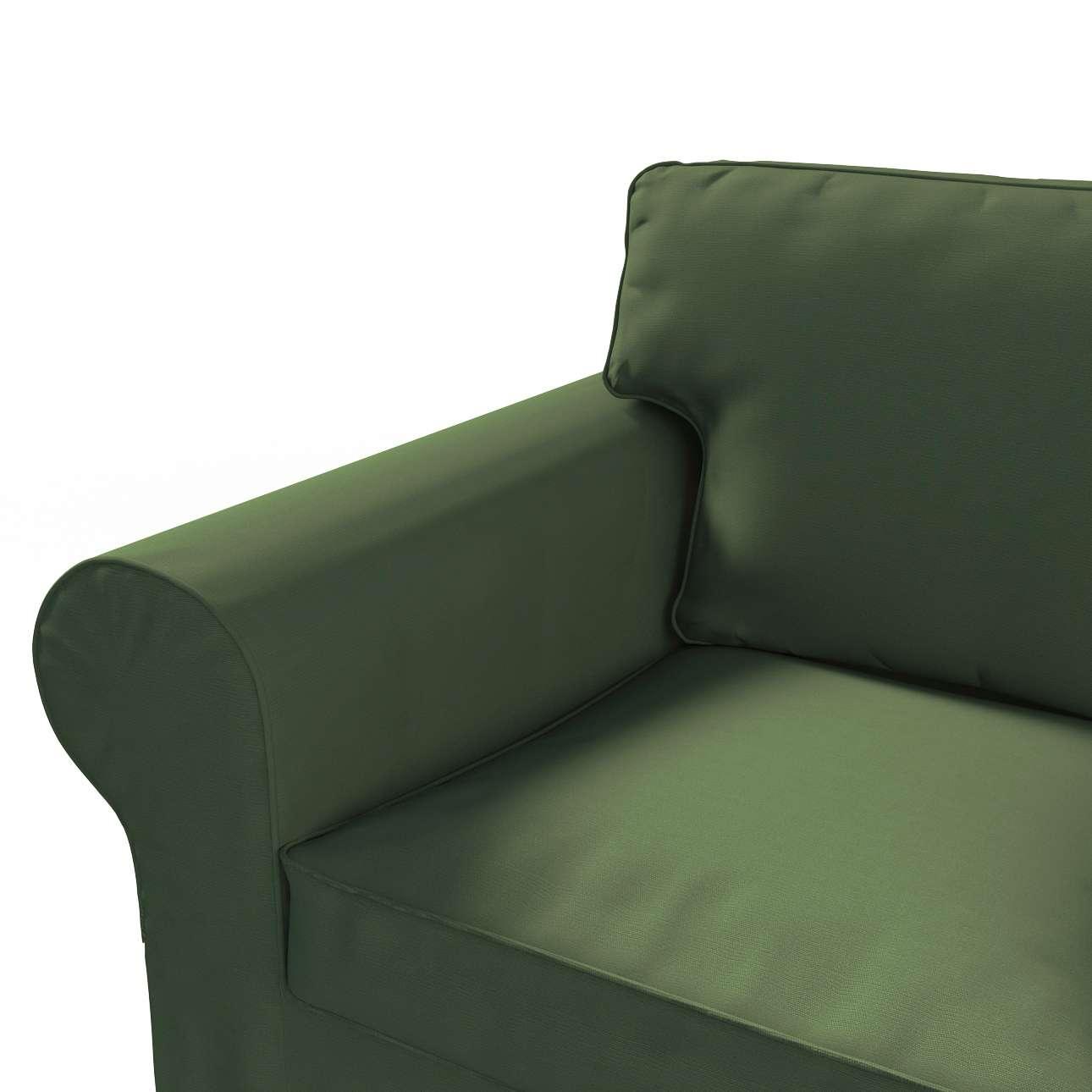 IKEA-hoes voor Ektorp 2-zitsbank - niet uitklapbaar van de collectie Cotton Panama, Stof: 702-06