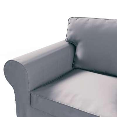 Pokrowiec na sofę Ektorp 2-osobową, nierozkładaną w kolekcji Cotton Panama, tkanina: 702-07