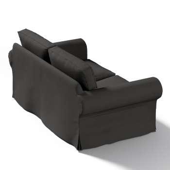 Pokrowiec na sofę Ektorp 2-osobową, nierozkładaną w kolekcji Cotton Panama, tkanina: 702-08