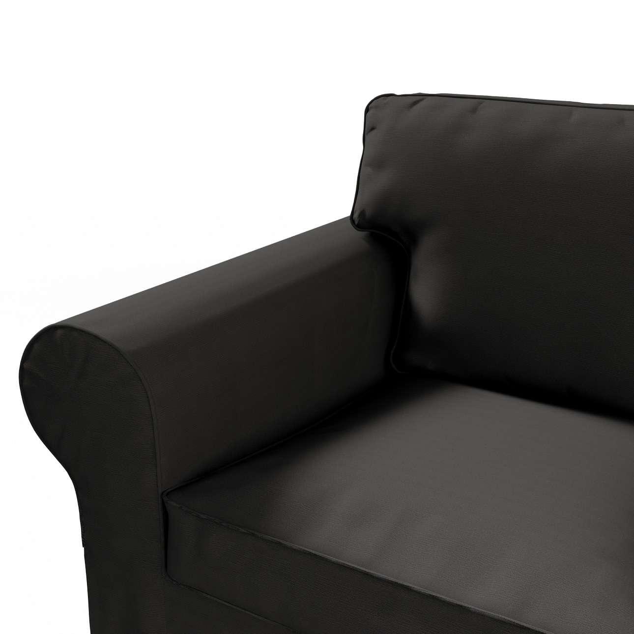 Ektorp 2 sæder Betræk uden sofa fra kollektionen Cotton Panama, Stof: 702-08