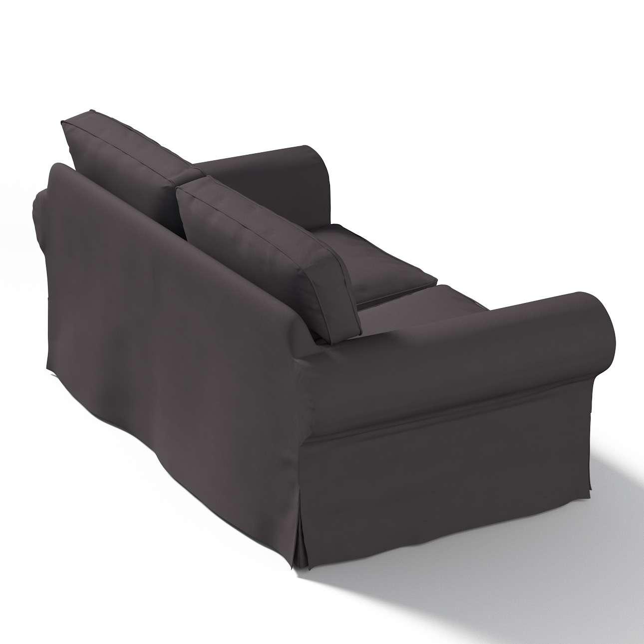 Ektorp 2 sæder Betræk uden sofa fra kollektionen Cotton Panama, Stof: 702-09