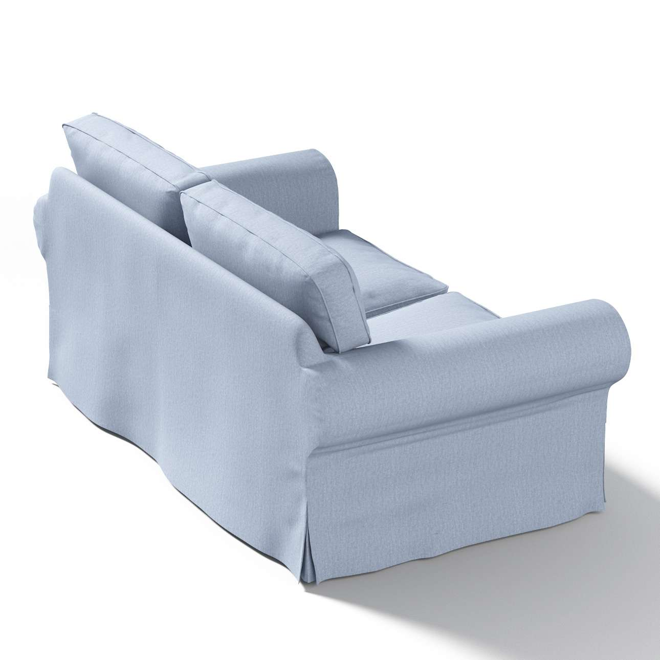 Pokrowiec na sofę Ektorp 2-osobową, nierozkładaną w kolekcji Chenille, tkanina: 702-13