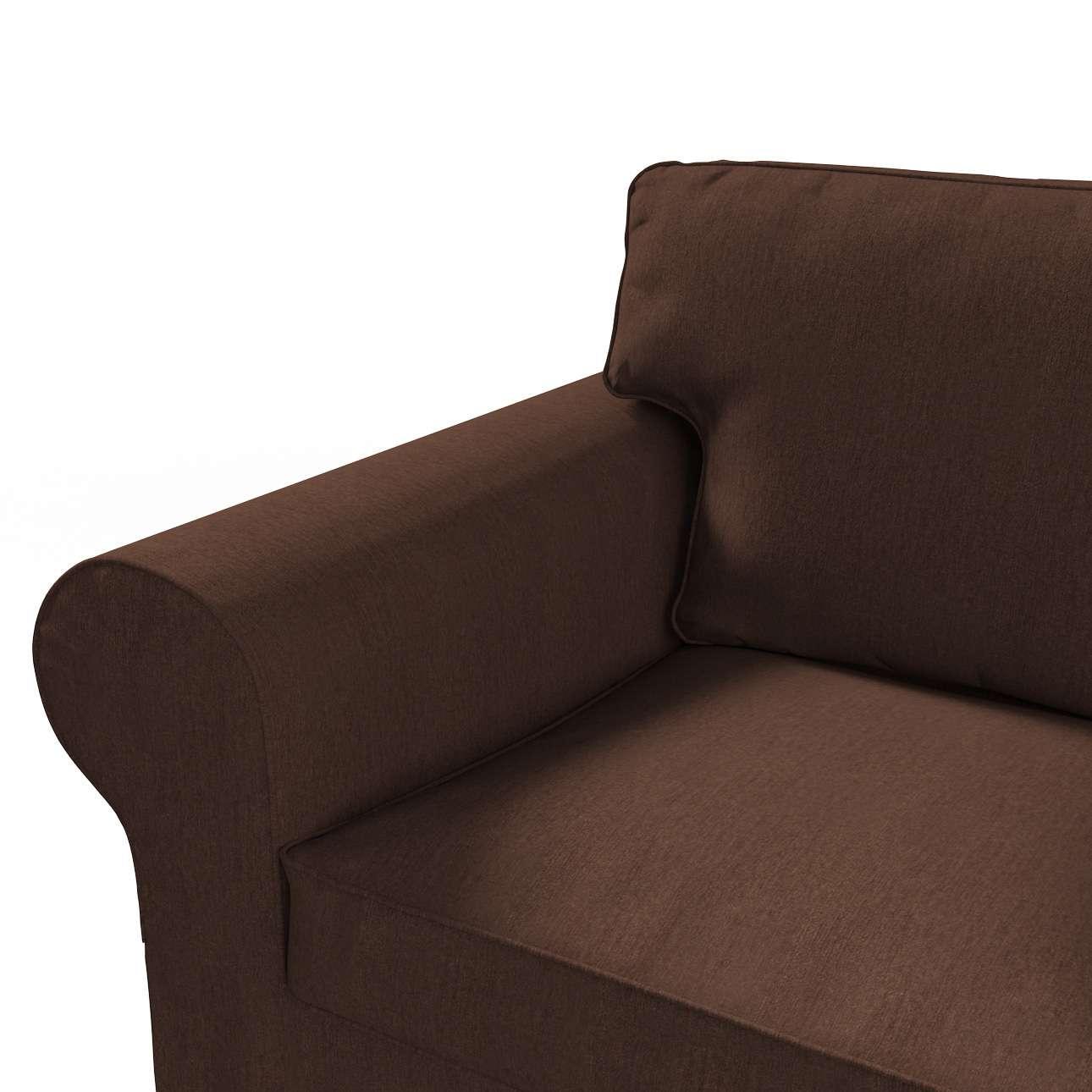 Potah na pohovku IKEA  Ektorp 2-místná, nerozkládací pohovka Ektorp 2-místná v kolekci Chenille , látka: 702-18