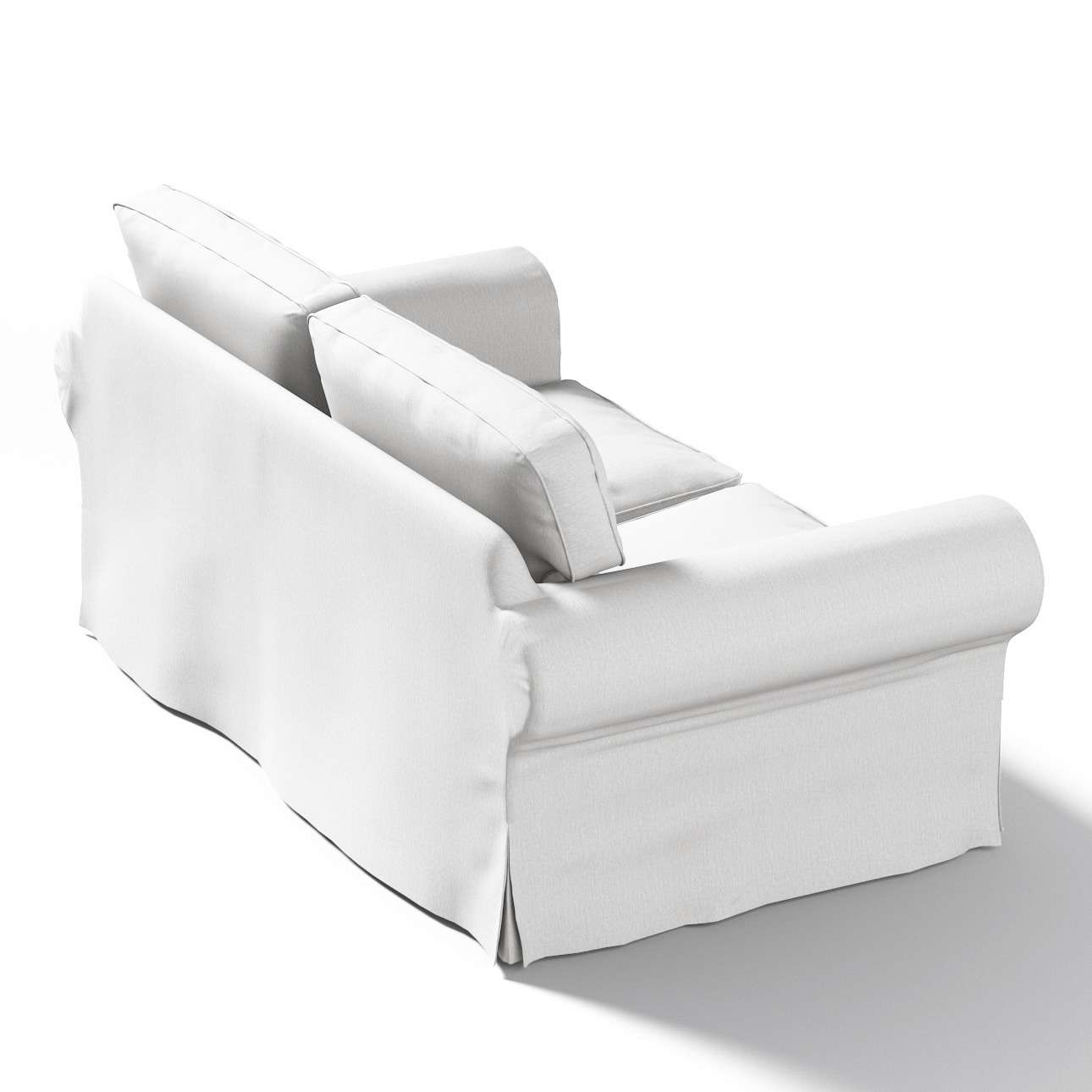 Potah na pohovku IKEA  Ektorp 2-místná, nerozkládací v kolekci Chenille , látka: 702-23