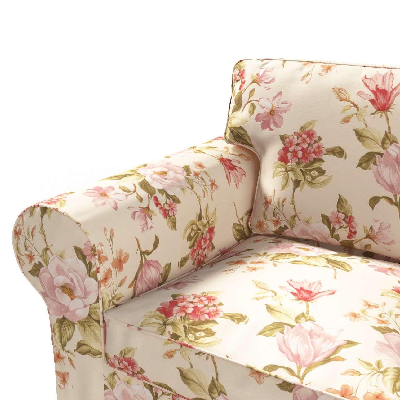 Pokrowiec na sofę Ektorp 2-osobową, nierozkładaną w kolekcji Londres, tkanina: 123-05