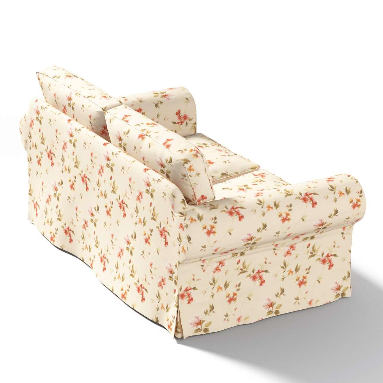 Potah na pohovku IKEA  Ektorp 2-místná, nerozkládací pohovka Ektorp 2-místná v kolekci Londres, látka: 124-05