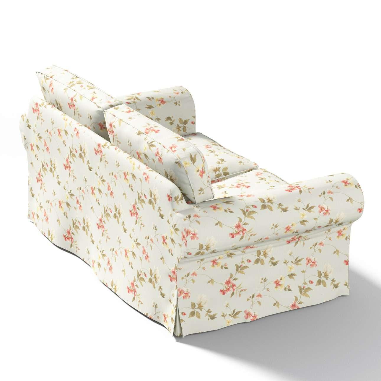 Pokrowiec na sofę Ektorp 2-osobową, nierozkładaną w kolekcji Londres, tkanina: 124-65