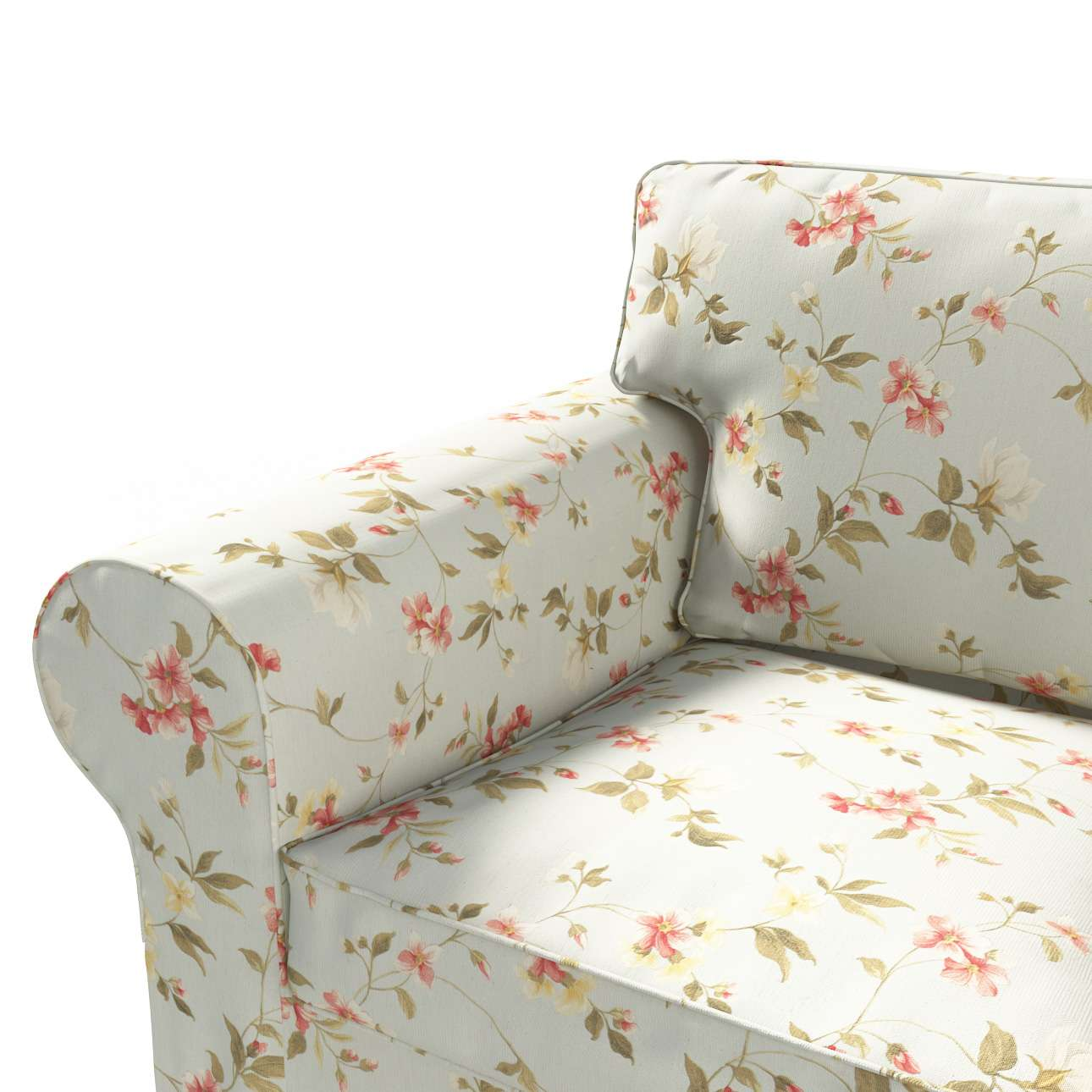 Ektorp betræk 2 sæder fra kollektionen Londres, Stof: 124-65