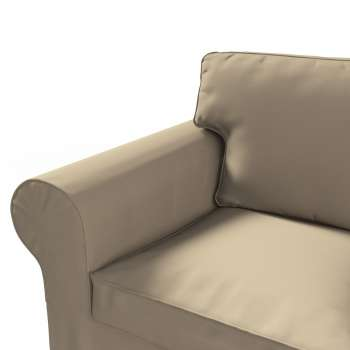 Ektorp 2 sæder Betræk uden sofa fra kollektionen Cotton Panama, Stof: 702-28