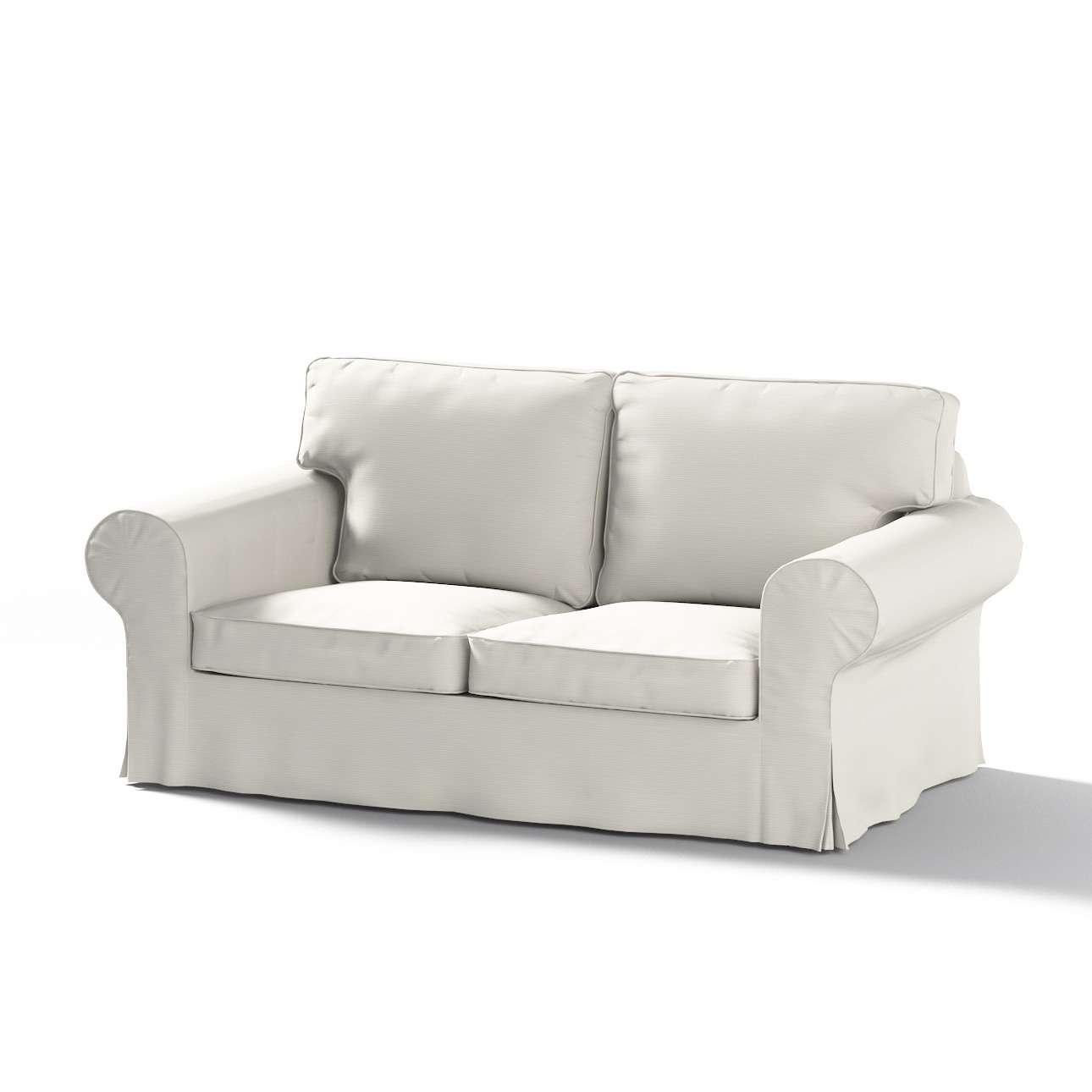 Ektorp 2 sæder Betræk uden sofa fra kollektionen Cotton Panama, Stof: 702-31