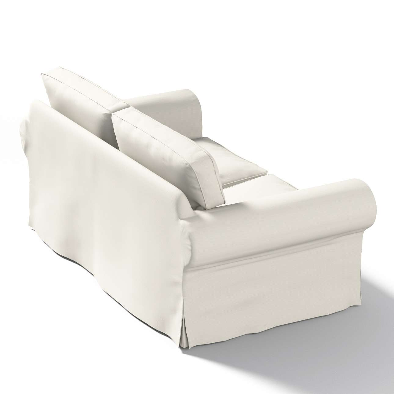 Ektorp betræk 2 sæder fra kollektionen Cotton Panama, Stof: 702-31
