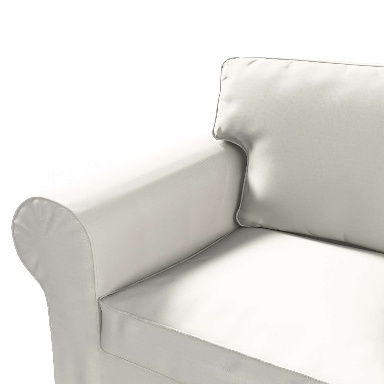 IKEA-hoes voor Ektorp 2-zitsbank - niet uitklapbaar van de collectie Cotton Panama, Stof: 702-31