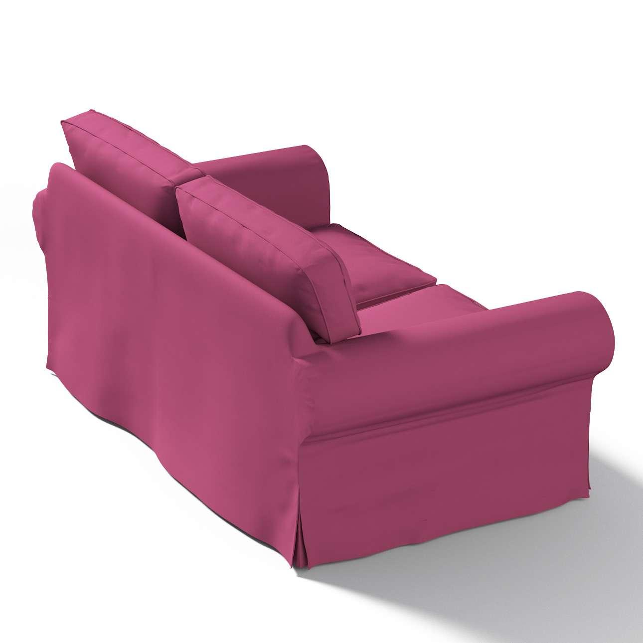Pokrowiec na sofę Ektorp 2-osobową, nierozkładaną Sofa Ektorp 2-osobowa w kolekcji Cotton Panama, tkanina: 702-32