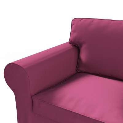 Pokrowiec na sofę Ektorp 2-osobową, nierozkładaną w kolekcji Cotton Panama, tkanina: 702-32