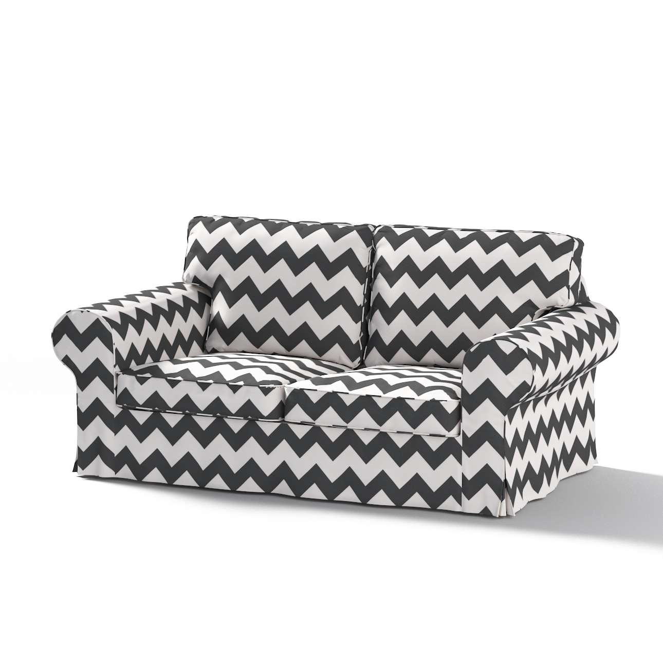 Ektorp 2-seater sofa cover in collection Comics/Geometrical, fabric: 135-02