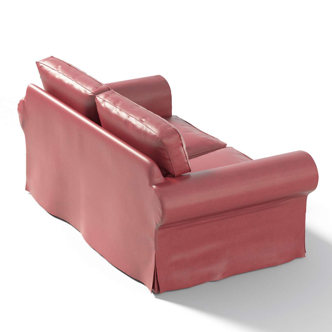 Ektorp klädsel <br> 2-sits soffa i kollektionen Fuskskinn, Tyg: 104-49