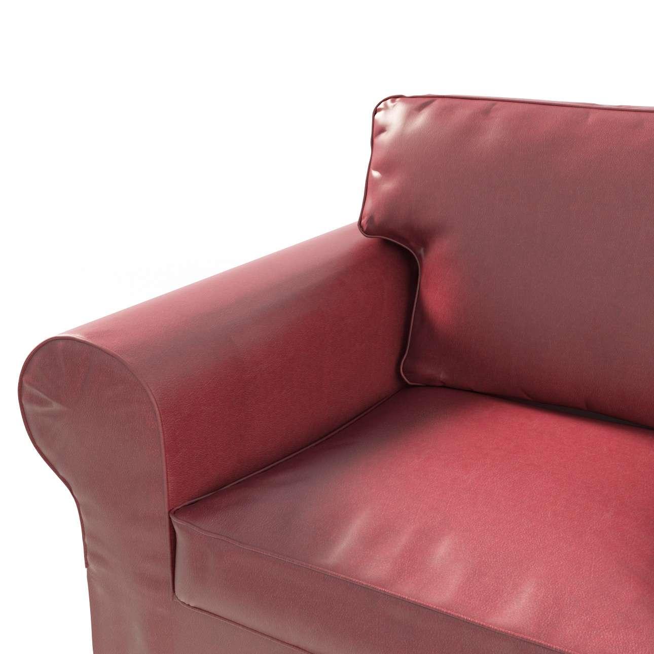 Ektorp 2 sæder fra kollektionen Kunstlæder, Stof: 104-49